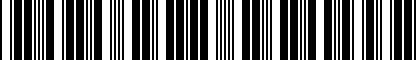 Barcode for DRG030068
