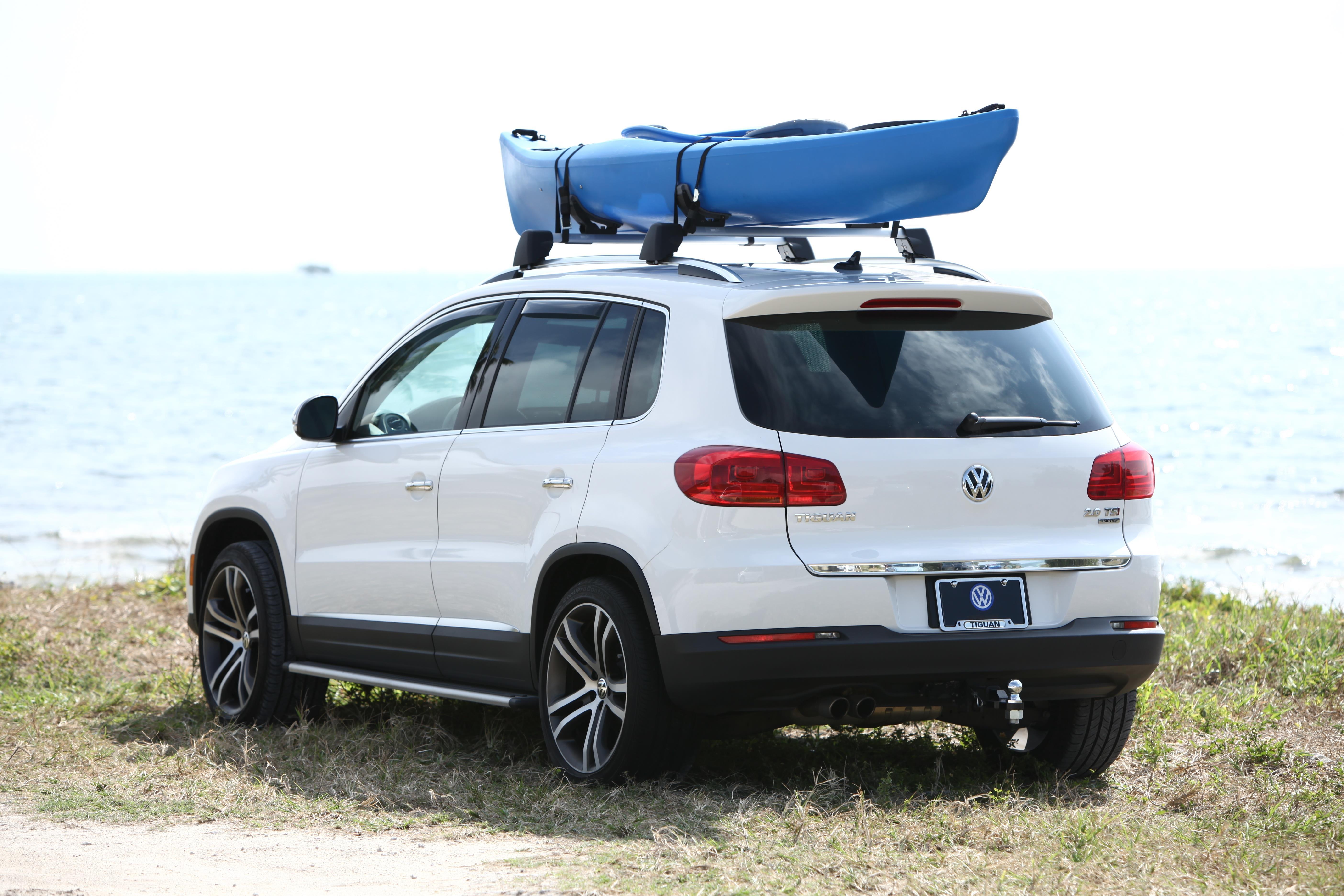 Volkswagen Golf R Kayak Holder Attachment Black Bars